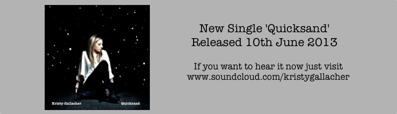 New Single - ' Quicksand'  released 10th June 2013